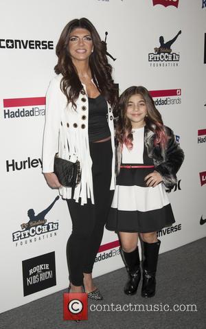 Teresa Giudice , Milania Giudice - New York Fashion Week Fall 2016 - Kids Rock! - Arrivals at Moynihan Station,...