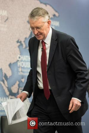 Hilary Benn - 'Making the Case for Britain in Europe' Chatham House lecture. - London, United Kingdom - Thursday 11th...