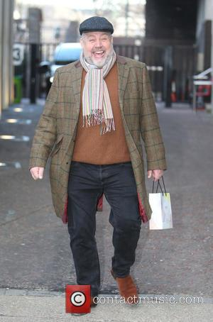 Cliff Parisi - Cliff Parisi outside ITV Studios today - London, United Kingdom - Thursday 11th February 2016