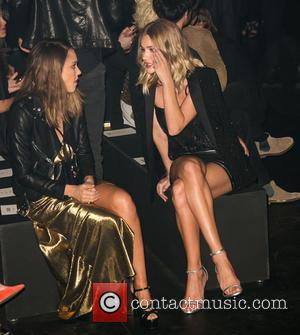 Jessica Alba and Rosie Huntington-whiteley