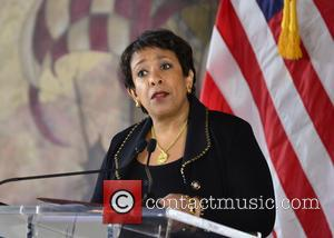 Loretta Lynch - U.S. Attorney General Loretta Lynch holds a press conference at the Freedom Tower as she concludes the...