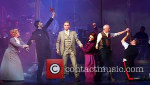 David Essex, Heidi Range, Jimmy Nail, Madalena Alberto, Michael Praed and Daniel Bedingfield