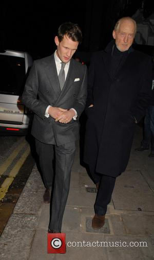 Matt Smith , Charles Dance - Pre-BAFTAs dinner at Little House in Mayfair, sponsored by The Weinstein Company and Grey...