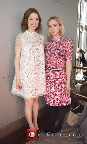 Elle Kemper , Guest - New York Fashion Week Fall/Winter 2016 - Kate Spade Presentation - Backstage at The Rainbow...