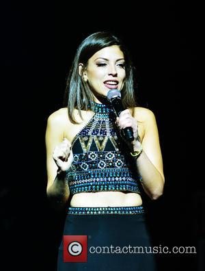 Nicole Suarez - Colombian musician Jorge Celedón performs at the James L. Knight Center in Miami at James L Knight...