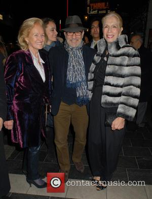 Lady Rona Delves Broughton, David Suchet and Lady Colin Campbell