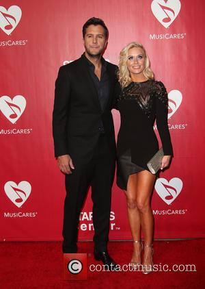 Luke Bryan and Caroline Boyer Bryan
