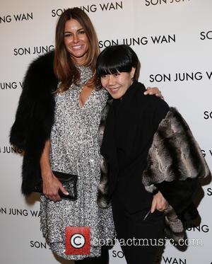 Kelly Killoren Bensimon and Son Jung Wan