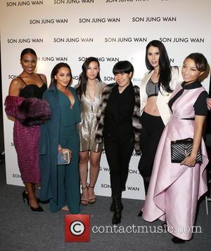 Vicky Jeudy, Adrienne Bailon, Arden Cho, Tara Kangarlou Son Jung Wan, Carmen Carrera and Jeannie Mai