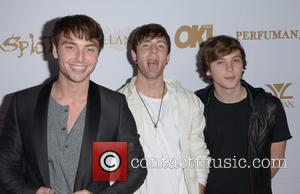 Wesley Stromberg, Drew Chadwick and Keaton Stromberg