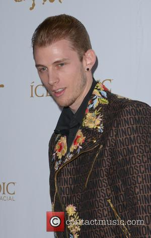 Machine Gun Kelly - OK! Magazine's 2016 Pre-Grammy Party at Lure Nightclub - Arrivals at Grammy - Los Angeles, California,...