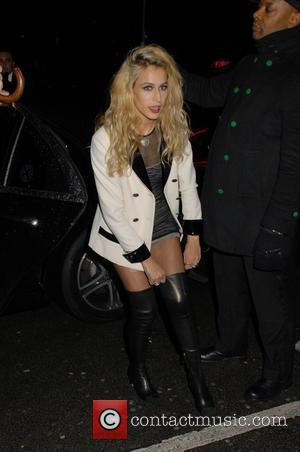 Alice Dellal - The Charles Finch & Chanel Pre-BAFTAs Dinner at Annabel's - Outside Arrivals at BAFTAS - London, United...