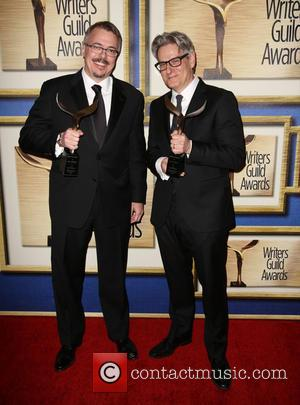Vince Gilligan and Peter Gould