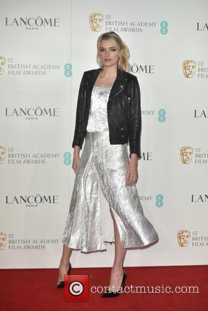 Lily Donaldson - Lancome BAFTA Nominees Party at Kensington Palace Gardens - Arrivals at BAFTA - London, United Kingdom -...