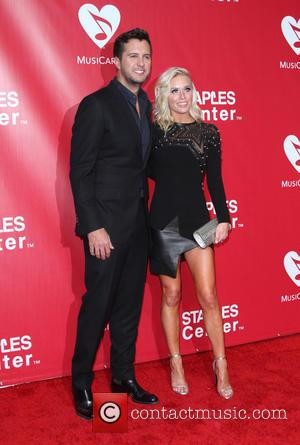 Luke Bryan and Wife Caroline Boyer