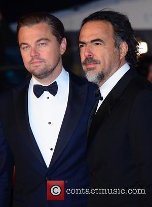 Leonardo Dicaprio and Alejandro González Iñárritu