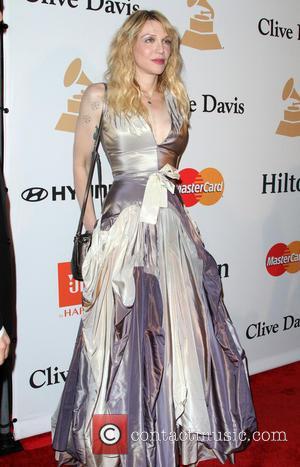 Courtney Love - Clive Davis 2016 Pre-Grammy Gala held at the Beverly Hilton Hotel at Grammy, Beverly Hilton Hotel -...