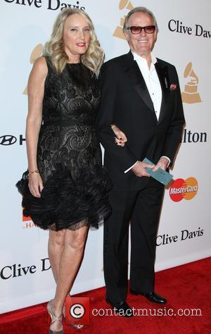 Peter Fonda and Parky Fonda