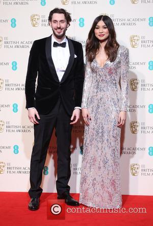 Gemma Chan and Blake Harrison