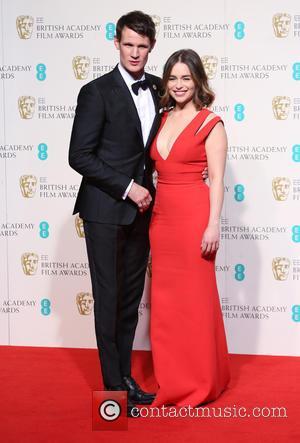 Matt Smith , Emilia Clarke - EE British Academy Film Awards (BAFTA) 2016 Awards - Press Room at British Academy...