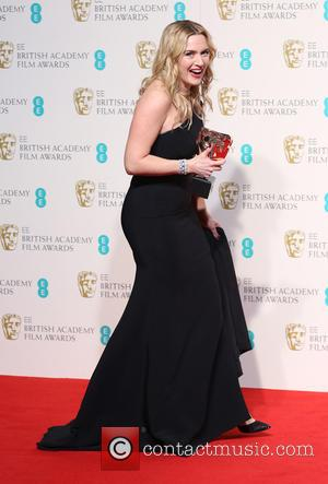 Kate Winslet - EE British Academy Film Awards (BAFTA) 2016 Awards - Press Room at British Academy Film Awards -...