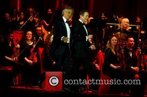 Andrea Bocelli and Eugene Kohn