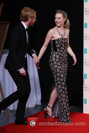 Domhnall Gleeson , Saoirse Ronan - EE British Academy Film Awards 2016 (BAFTAs) held at Royal Opera House - Press...