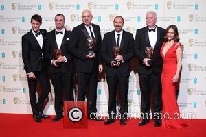 Matt Smith, Chris Corbould, Roger Guyett, Paul Kavanagh. Neal Scanlan and Emilia Clarke