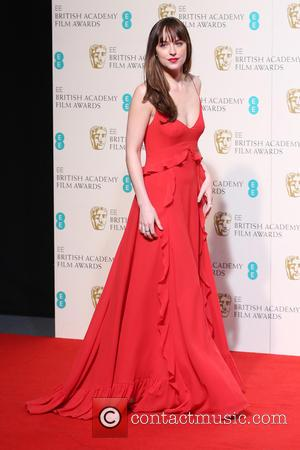 Dakota Johnson - EE British Academy Film Awards (BAFTA) Awards Winners Room 2016 at British Academy Film Awards - London,...