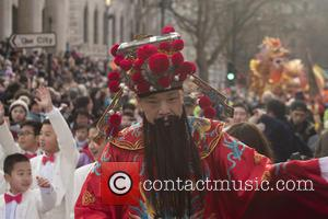 Atmosphere - Chinese New Year parade in London at Chinese New Year - London, United Kingdom - Sunday 14th February...