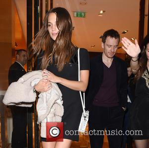 Michael Fassbender , Alicia Vikander - Celebrities attend a Pre-BAFTA dinner held at Louis Vuitton Store - London, United Kingdom...