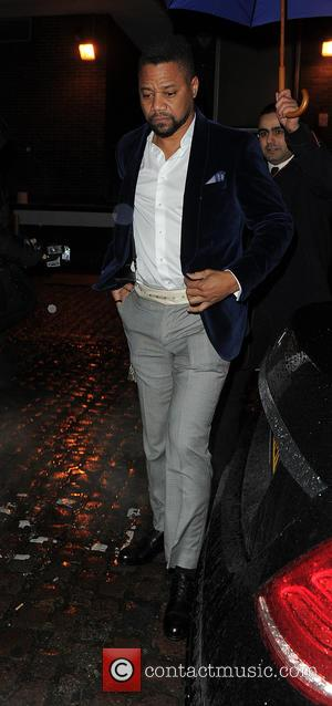 Cuba Gooding , Jr. - Celebrities attend a Pre-BAFTA party at Chiltern Firehouse - London, United Kingdom - Sunday 14th...