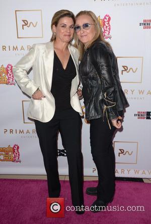 Cat Cora and Melissa Etheridge