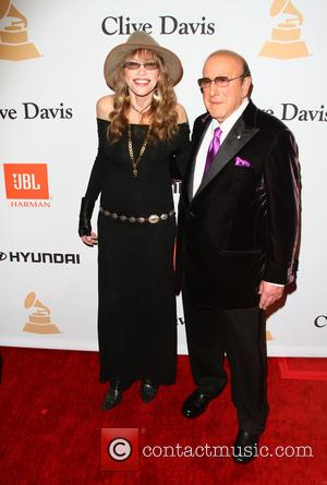 Carly Simon and Clive Davis
