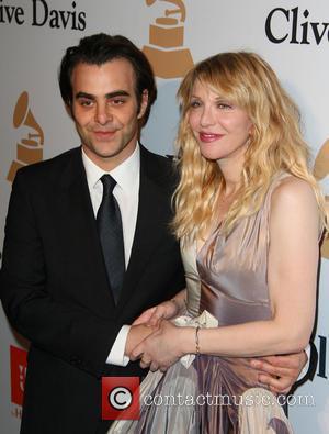 Nicholas Jarecki and Courtney Love