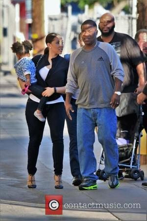 Tracy Morgan , Megan Wollover - an appearance on Jimmy Kimmel Live! at Jimmy Kimmel studio - Hollywood, California, United...