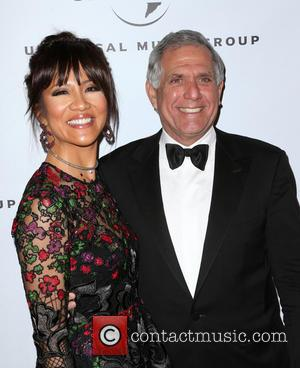 Julie Chen , Leslie Moonves - Universal Music Group's 2016 GRAMMY After Party - Arrivals at The Theatre At The...