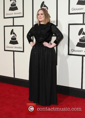 Adele Adkins - 58th Annual GRAMMY Awards 2016 - Arrivals held at the Staples Center at Grammy Awards, Staples Center...