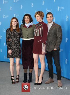 Greta Gerwig, Julianne Moore, Rebecca Miller and Damon Cardasis