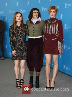 Greta Gerwig, Julianne Moore and Rebecca Miller