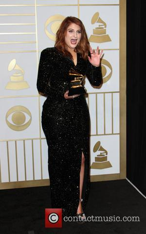 Meghan Trainor - 58th Annual GRAMMY Press Room 2016 - Arrivals held at the Staples Center at Staples Center, Grammy...