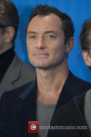 Jude Law - Celebrities  attends a photocall and press conference for