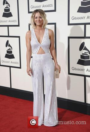 Kaley Cuoco - The 58th Annual Grammy Awards Arrivals at Grammy Awards - Los Angeles, California, United States - Tuesday...
