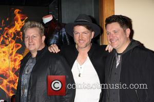 Rascal Flatts, Gary Levox, Joe Don Rooney and Jay Demarcus