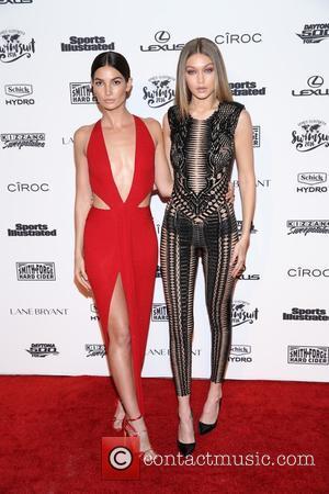 Lily Aldridge and Gigi Hadid
