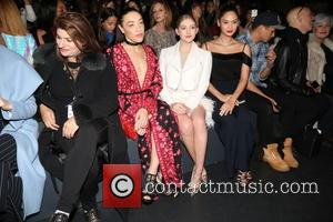 Actress Jackie Miranne, A Guest, Actresses Mia Moretti, Willow Shields, Miss Universe 2016 and Pia Alonzo Wurtzbach