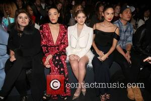 Actress Jackie Miranne, A Guest, Actresses Mia Moretti, Willow Shields, And Miss Universe 2016 and Pia Alonzo Wurtzbach