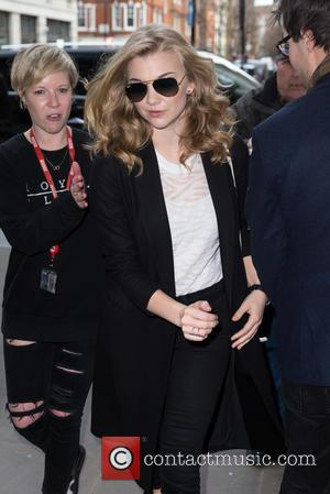 Natalie Dormer - Natalie Dormer pictured arriving at the Radio 1 studios to promote her new film 'The Forest' at...