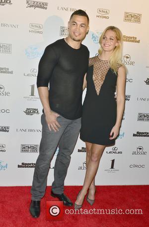 Giancarlo Stanton and Erin Heatherton
