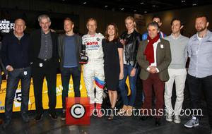 Jensen Button, Jodie Kidd, Suzi Perry, Gordon Murray, Ari Vatanen, Bruno Senna, Jonny Smith, Tom Ford and Alan De Cadanet